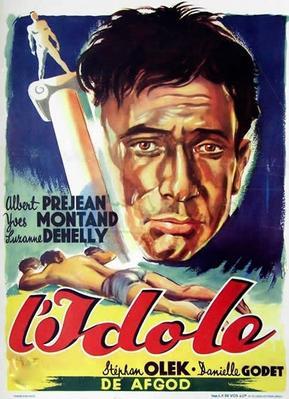L'Idole - Poster Belgique