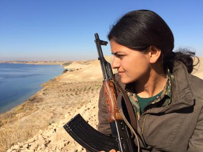 Women against ISIS