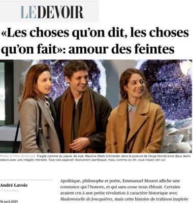 Revista de prensa – Abril del 2021