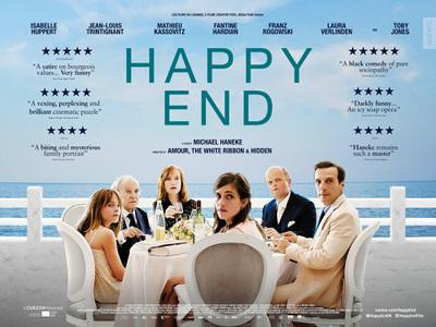 Happy End - Poster - UK