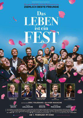 Le Sens de la fête - Poster - Germany