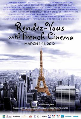 Rendez-Vous With French Cinema en Nueva York - 2012