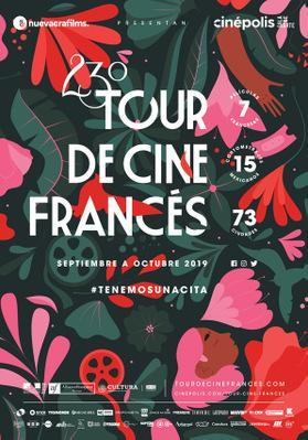 Tour de Cine Francés en México - 2019