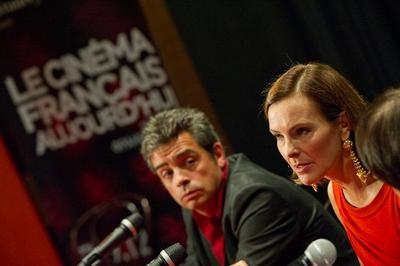 """Carole Bouquet à Moscou pour lancer """"Le cinéma français d'aujourdhui"""""""