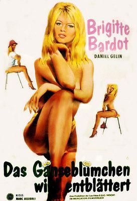 En effeuillant la marguerite - Poster Allemagne 1