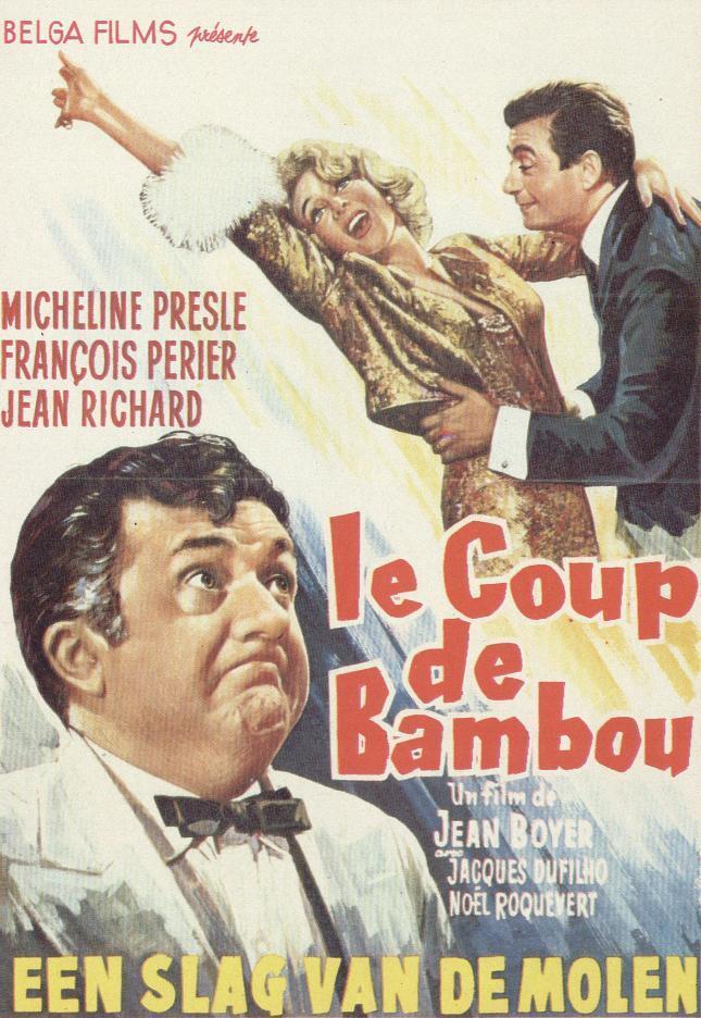 Le Coup de bambou - Poster Belgique