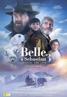 Belle and Sebastian, Friends for Life - Poster - Austria