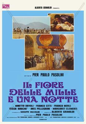Las Mil y una noches - Poster - Italie