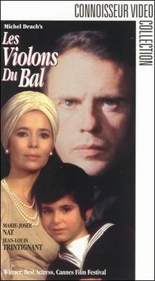 Les Violons du bal - Jaquette VHS Etats-Unis