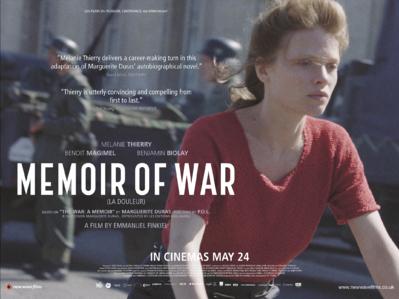 Memoir of War - UK