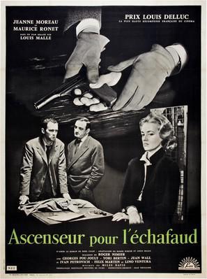 Ascenseur pour l'échafaud - Original Poster
