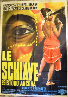 Les Esclaves existent toujours - Poster - Italy