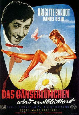 En effeuillant la marguerite - Poster Allemagne 2