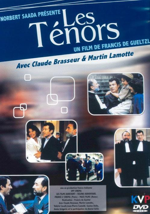 Les Ténors - Jaquette DVD - France