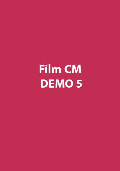 Film CM Demo 5