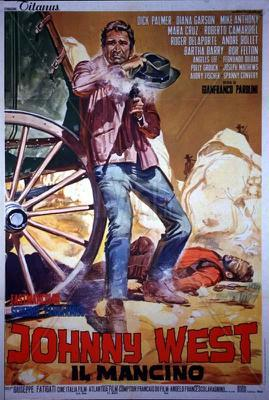 Johnny West - Poster - Italie