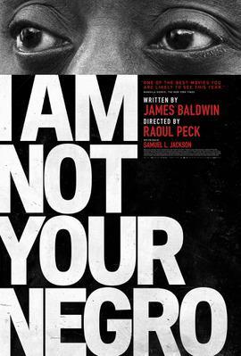 Je ne suis pas votre Nègre - Poster - USA