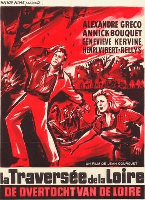 La Traversée de la Loire - Poster Belgique