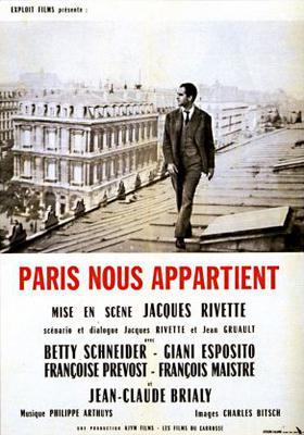 Paris Belongs to Us - Poster France