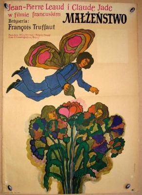 Domicile conjugal - Poster Pologne