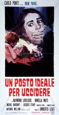 An Ideal Place to Kill - Poster - Italy