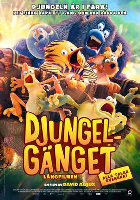 Les As de la jungle (le film) - Poster - Sweden