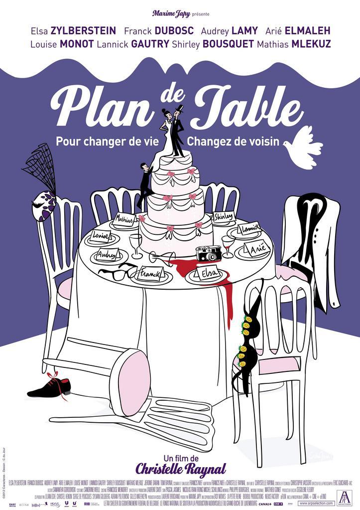 cine plan de table