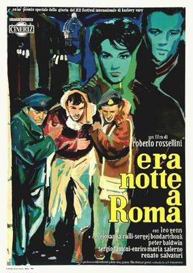 Escape by Night/Blackout in Rome - Poster - Italy