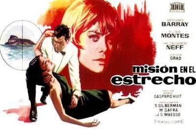 Misión en el estrecho - Poster Espagne