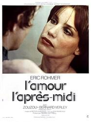Chloe in the Afternoon / Love in the Afternoon - Poster France