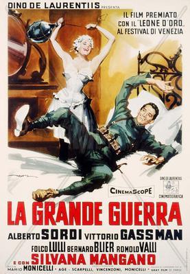 La Gran guerra - Poster - Italy