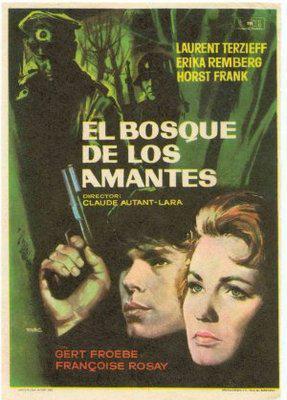 恋人たちの森 - Poster Espagne