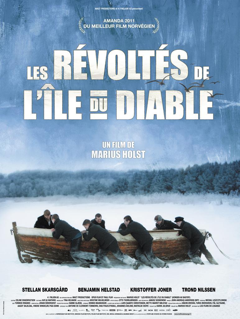 Marius Holst - Poster - France