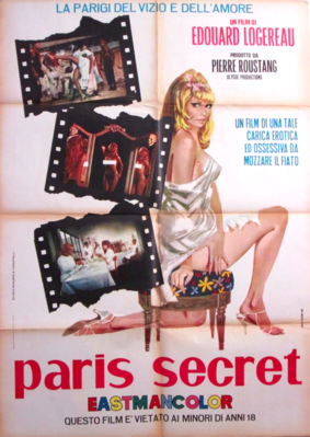 Paris secret - Poster Italie