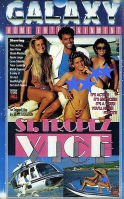 Saint Tropez Vice - Jaquette VHS USA
