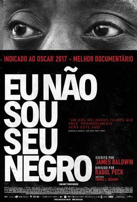 Je ne suis pas votre Nègre - Poster - Brazil