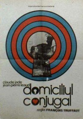 Domicile conjugal - Poster Roumanie