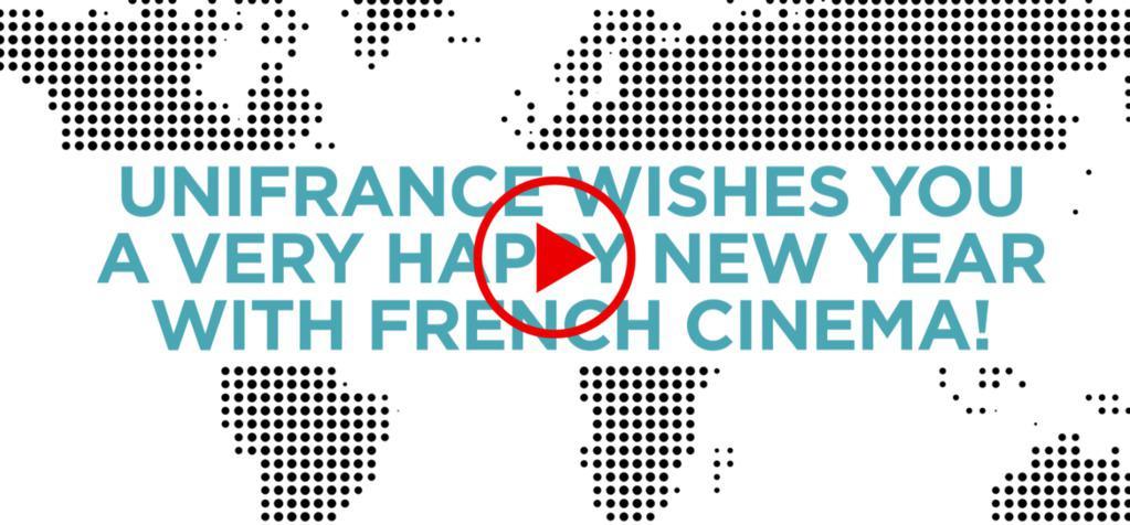 Bonne année 2018 de la part d'UniFrance !