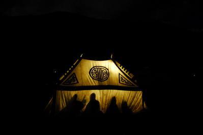 La Nuit nomade - © Zed / Marianne Chaud / Maximilian Essayie
