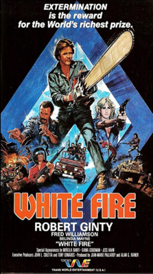 White Fire - Poster - USA