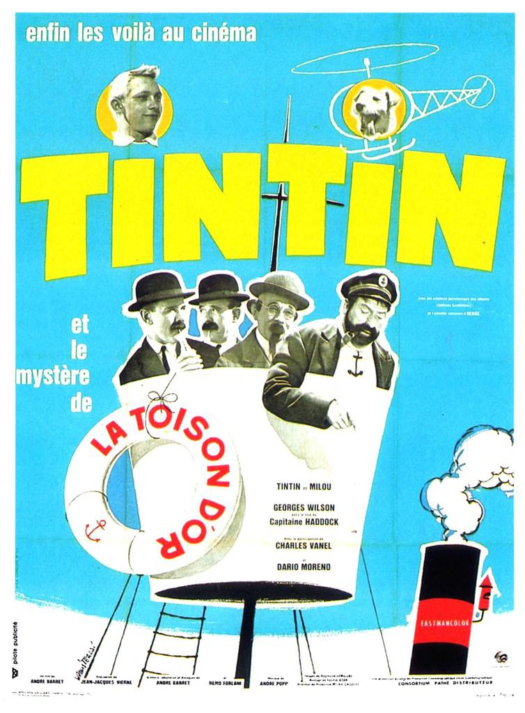 tintin et le myst re de la toison d 39 or 1961 unifrance films. Black Bedroom Furniture Sets. Home Design Ideas
