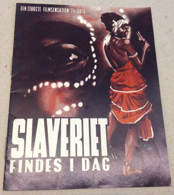 Slave Trade in the World Today - Poster - Denmark