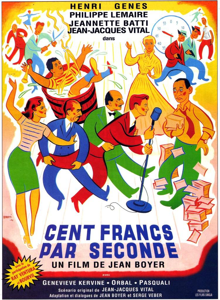 Cent francs par seconde