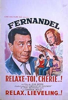 Relaxe-toi, chérie - Poster Belgique