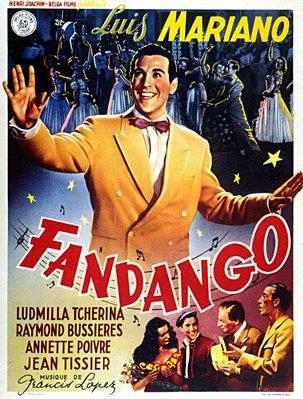 Fandango - Poster Belgique