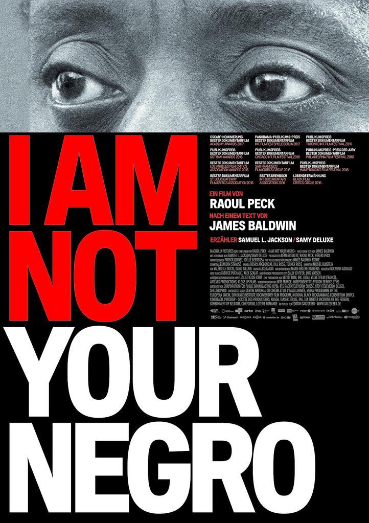 """Résultat de recherche d'images pour """"i am not your negro"""""""