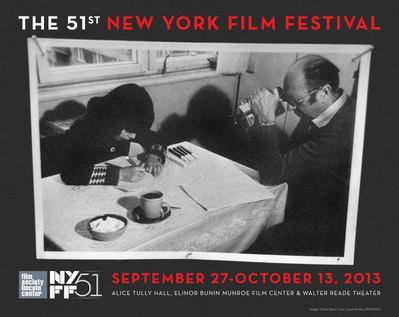 Festival du film de New York (NYFF) - 2013