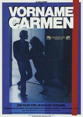 First Name: Carmen - Poster Allemagne