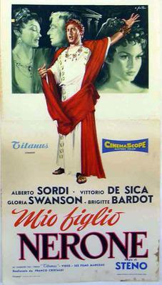 Mi hijo Nerón - Poster Italie