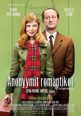Tímidos anónimos - poster - Finlande